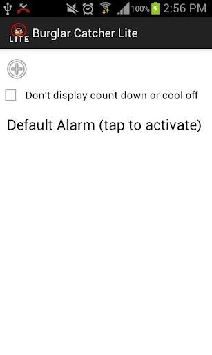 Burglar, Thief Catcher Lite screenshot for Android