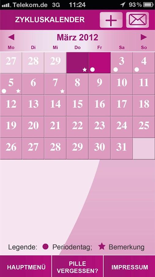 Meine-Pille App Aristo - screenshot