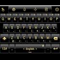 Theme TouchPal Dusk Black Gold icon