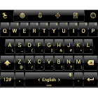 Theme TouchPal Dusk Black Gold icon