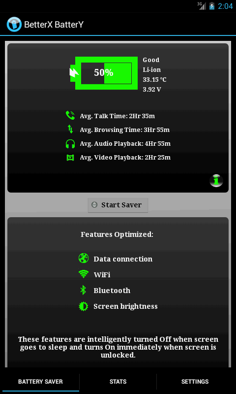 BetterX Battery(2 X Life)- screenshot