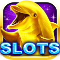 Gold Dolphin Casino Slots™ icon