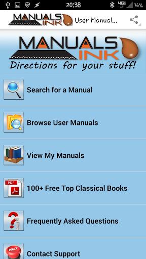 【免費書籍App】User Manuals - Manuals Ink Ltd-APP點子