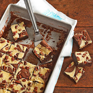 Cream Cheese Marbled Brownies