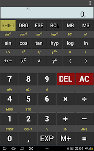 MyCalc Scientific Calculator - screenshot thumbnail