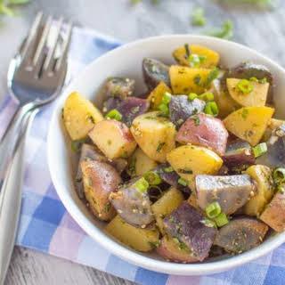 Vegan Asian Potato Salad.