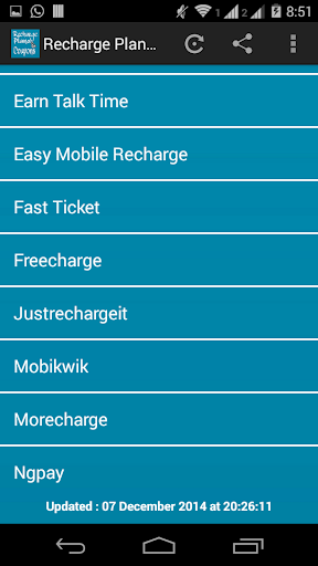 Free Recharge Plans Coupons