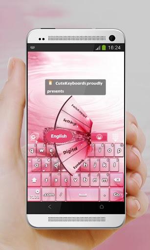 粉紅色 GO Keyboard