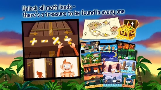 Monkey Math Free - Kids Games- screenshot thumbnail