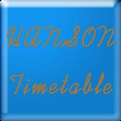 Hanson Timetable