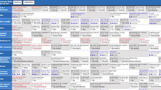 TV Listings Guide - screenshot thumbnail