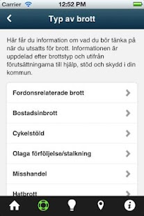 Brottsofferappen — Tryggare Sv- screenshot thumbnail