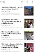 Screenshot of Digg