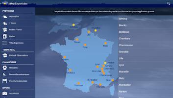 Screenshot of Météo Chamrousse