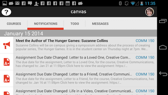 Canvas by Instructure - screenshot thumbnail