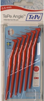 TePe Angle Interdental Tooth Brush - Red