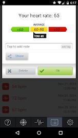 Instant Heart Rate - Pro Screenshot 4