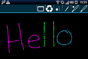 Screenshot of Draw Chat for GTalk