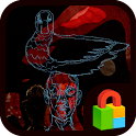 Duck and I Dodol Locker Theme icon