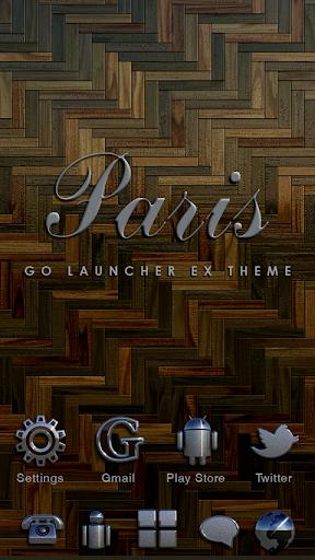 Paris GO Launcher Ex Theme