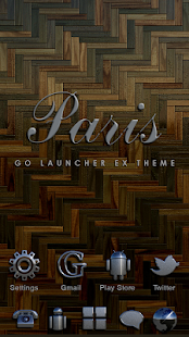 Paris GO Launcher Ex Theme