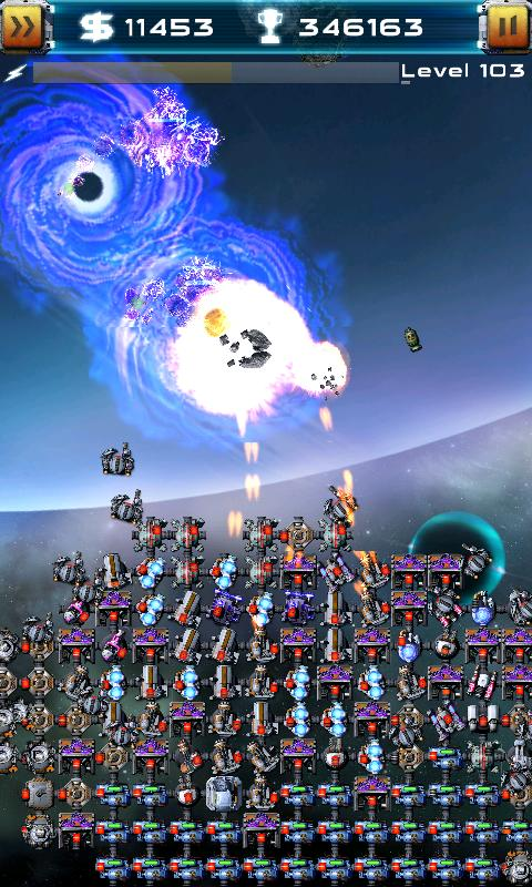 Asteroid Defense Classic - screenshot
