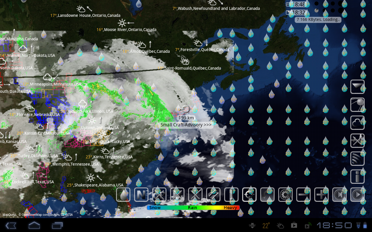 eWeather HD, Radar HD, Alerts - screenshot