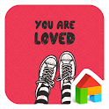 you are loved dodol theme icon