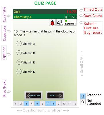 PSC Exam - screenshot