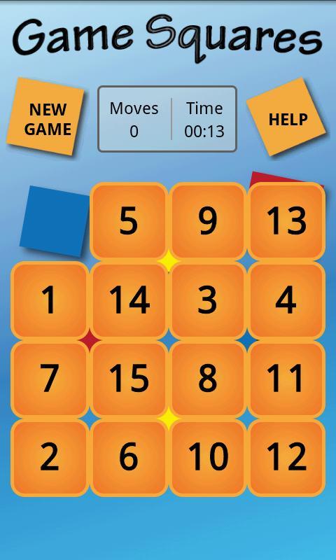 GameSquares - A N-Puzzle Game- screenshot