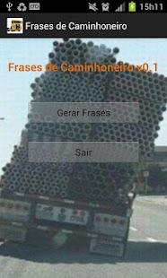 Frases de Caminhoneiro - screenshot thumbnail