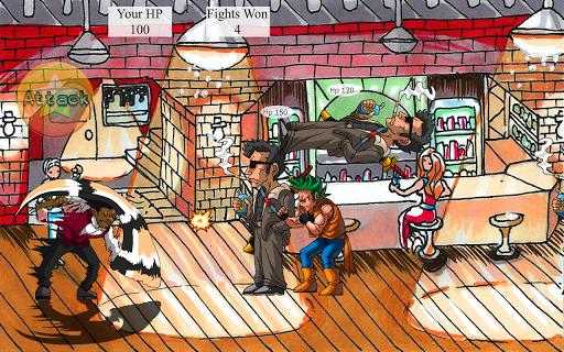 調酒師的酒吧街撲滅