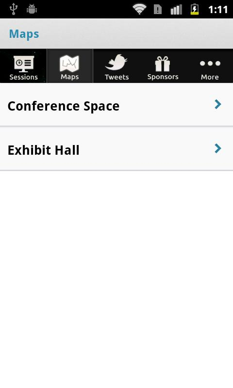 Sloan-C Conferences - screenshot