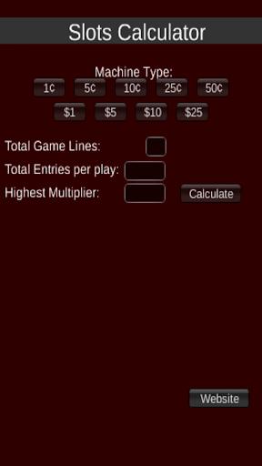 Slots Calculator