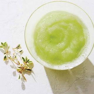 Melon Lime Slushy.