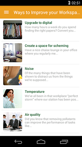 Ways to Improve your Workspace