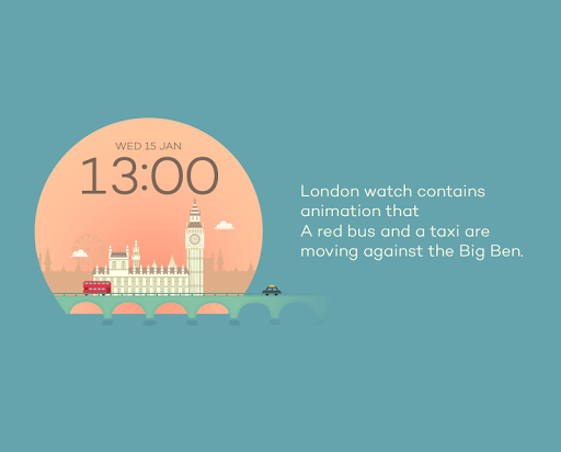 London watchface by Sol