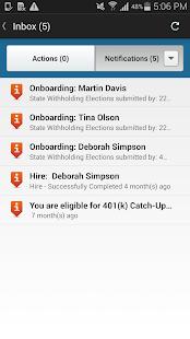 Workday - screenshot thumbnail