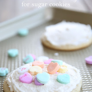 Melt in Your Mouth Buttercream Icing for Sugar Cookies