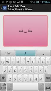 Ascii Emoticons- screenshot thumbnail