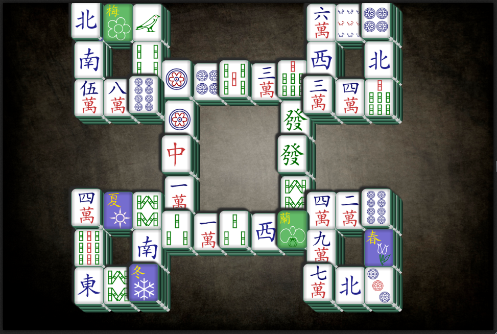 Green Mahjong- screenshot