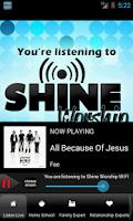 Screenshot of Shine.FM / Positive Hit Music