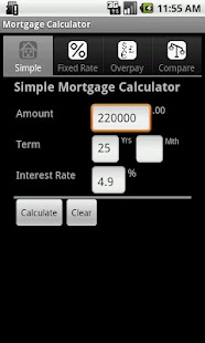 Mortgage Calculator - screenshot thumbnail