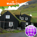 Faroe Islands Street Map logo