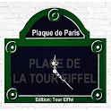 Plaque de Paris | Tour Eiffel icon
