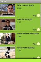 Screenshot of Anger Management App