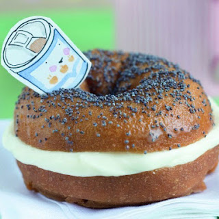 Trompe L'oeil Bagels with Cream Cheese