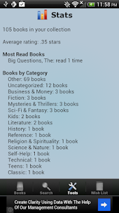 Book Collection & Catalog - screenshot thumbnail