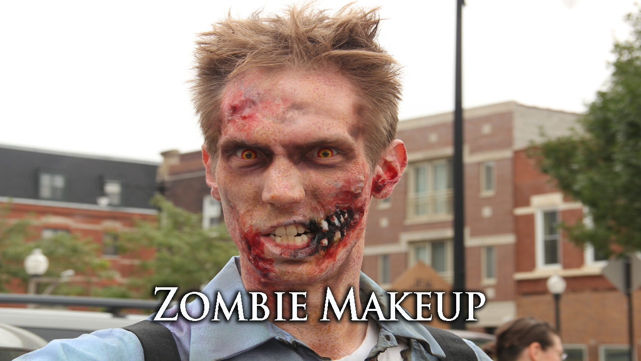 Zombie Makeup - screenshot
