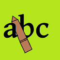 Write ( ABC  123 ) icon